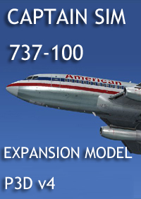CAPTAIN SIM - 737 CAPTAIN - 737-100 EXPANSION P3D V4
