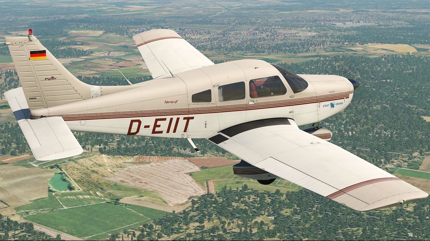 JUSTFLIGHT - PA-28-161 WARRIOR II X-PLANE 11