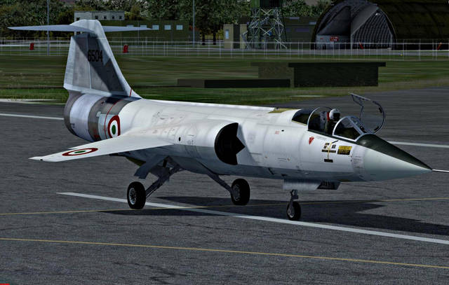 SIM SKUNK WORKS - LOCKHEED MARTIN FRF-104G FOR P3D V. 4.X