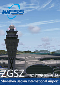 WF SCENERY STUDIO - SHENZHEN BAO'AN INTERNATIONAL AIRPORT ZGSZ P3D4