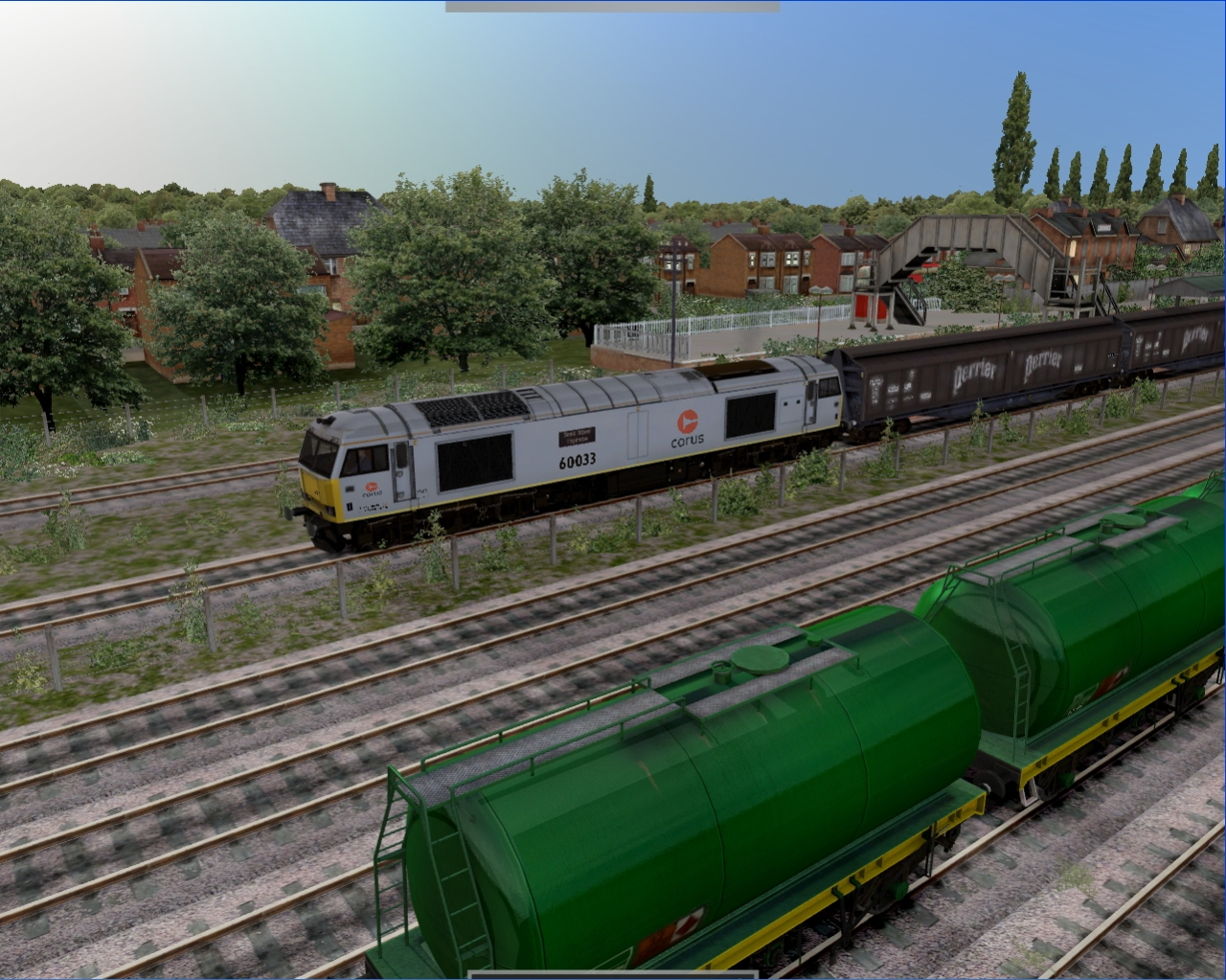 JUSTTRAINS - CLASS 60 & FREIGHT WAGONS