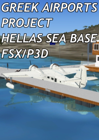 GREEK AIRPORTS PROJECT - HELLAS SEA BASE FSX P3D