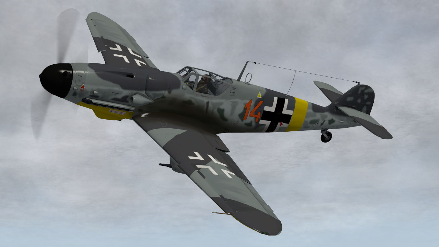 MLADG - MESSERSCHMITT ME-109 G-2 FOR X-PLANE 11