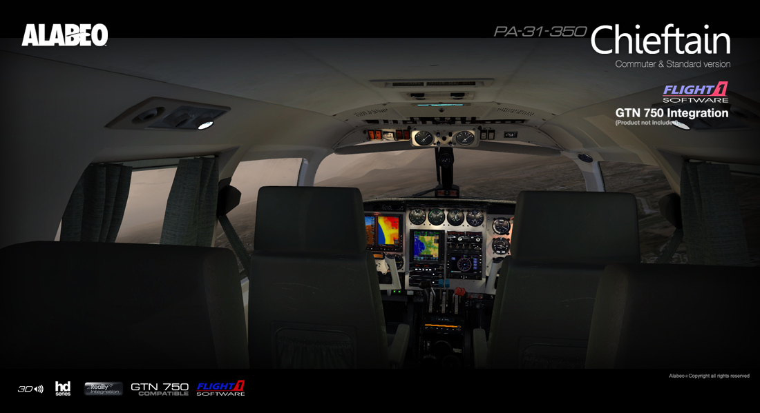 ALABEO - PA31 CHIEFTAIN 350 FSX P3D