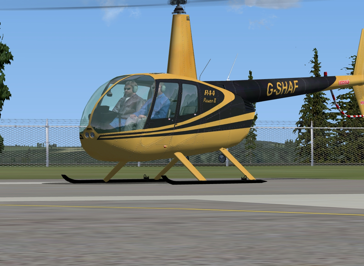 JUSTFLIGHT - FLYING CLUB R44 HELICOPTER