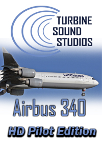 TURBINE SOUND STUDIOS - AIRBUS A340 TRENT-500 HD PILOT EDITION SOUNDPACK FOR FS2004