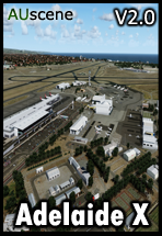 AUSCENE - ADELAIDE INTERNATIONAL X V2 FSX P3D