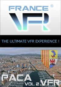 FRANCEVFR - FRENCH RIVIERA VFR 3D AUTOMATION VOL. 2  FSX P3D