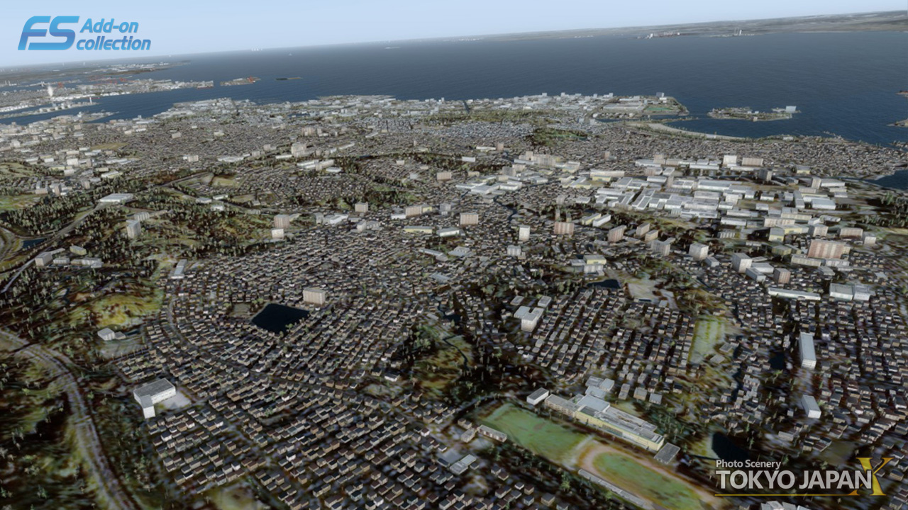 TECHNOBRAIN - FS ADD-ON COLLECTION PHOTO SCENERY TOKYO JAPAN FSX P3D