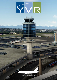 FSIMSTUDIOS - VANCOUVER INTERNATIONAL AIRPORT CYVR P3D4-5