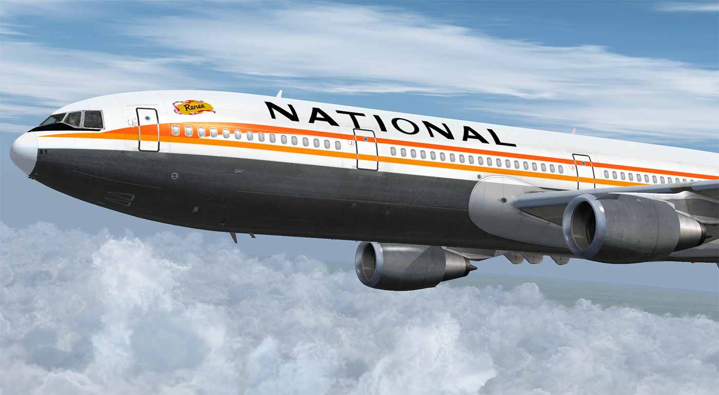 JUSTFLIGHT - DC-10 COLLECTION HD 10-40 LIVERY PACK FSX P3D