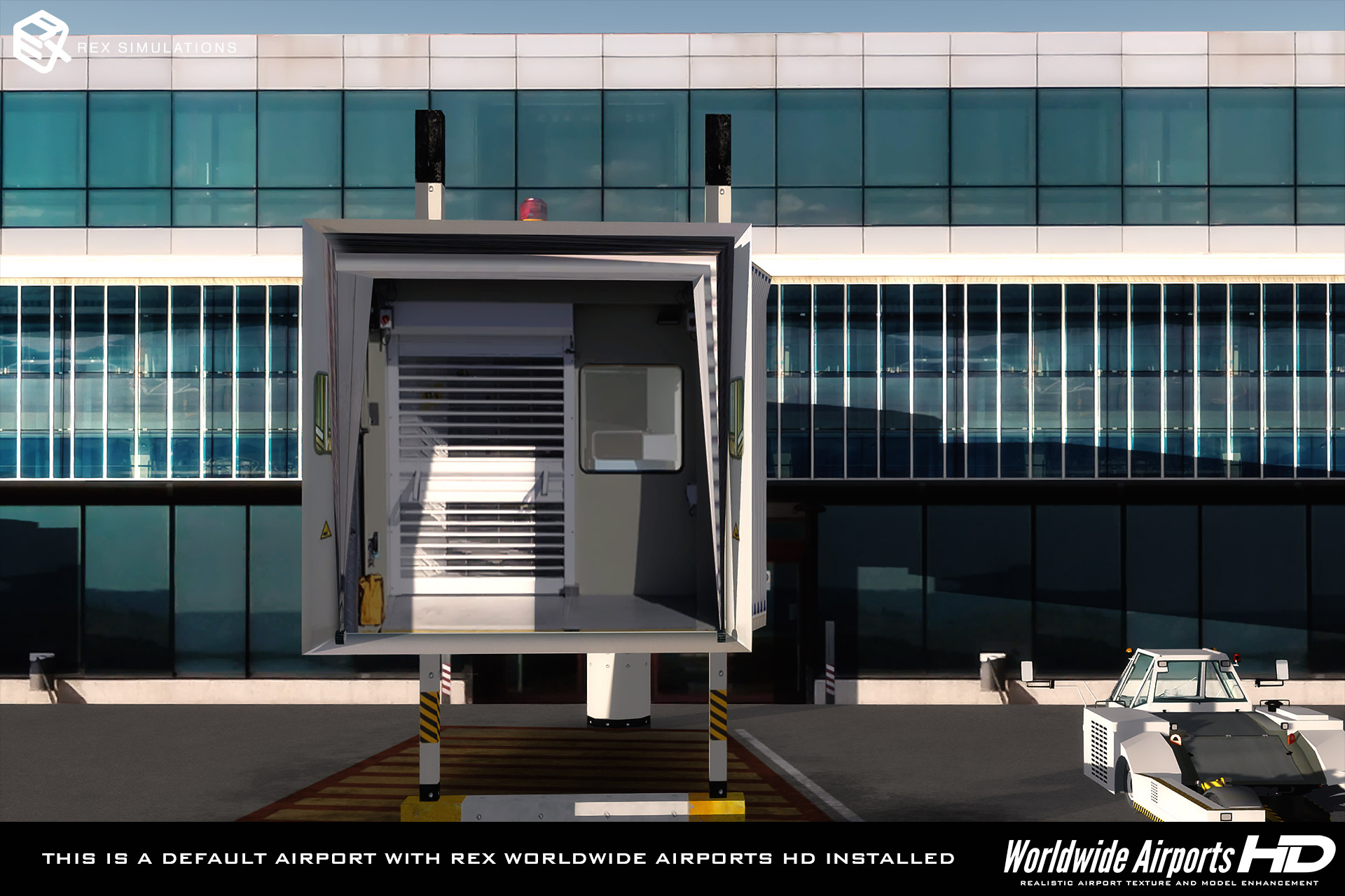 REX - REX WORLDWIDE AIRPORTS HD FSX P3D