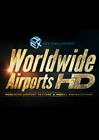 REX GAME STUDIOS - REX 5 - WORLDWIDE AIRPORTS HD FSX P3D