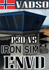 IRONSIM - VADSO AIRPORT P3D5