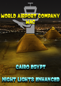 WORLD AIRPORT COMPANY - CAIRO NIGHT LIGHT ENHANCED MSFS