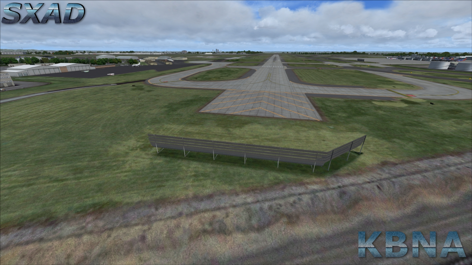 SXAIRPORTDESIGN - NASHVILLE INTERNATIONAL AIRPORT KBNA FSX P3D