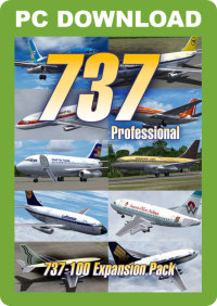 JUSTFLIGHT - 737 PROFESSIONAL - 737-100 EXPANSION PACK FSX