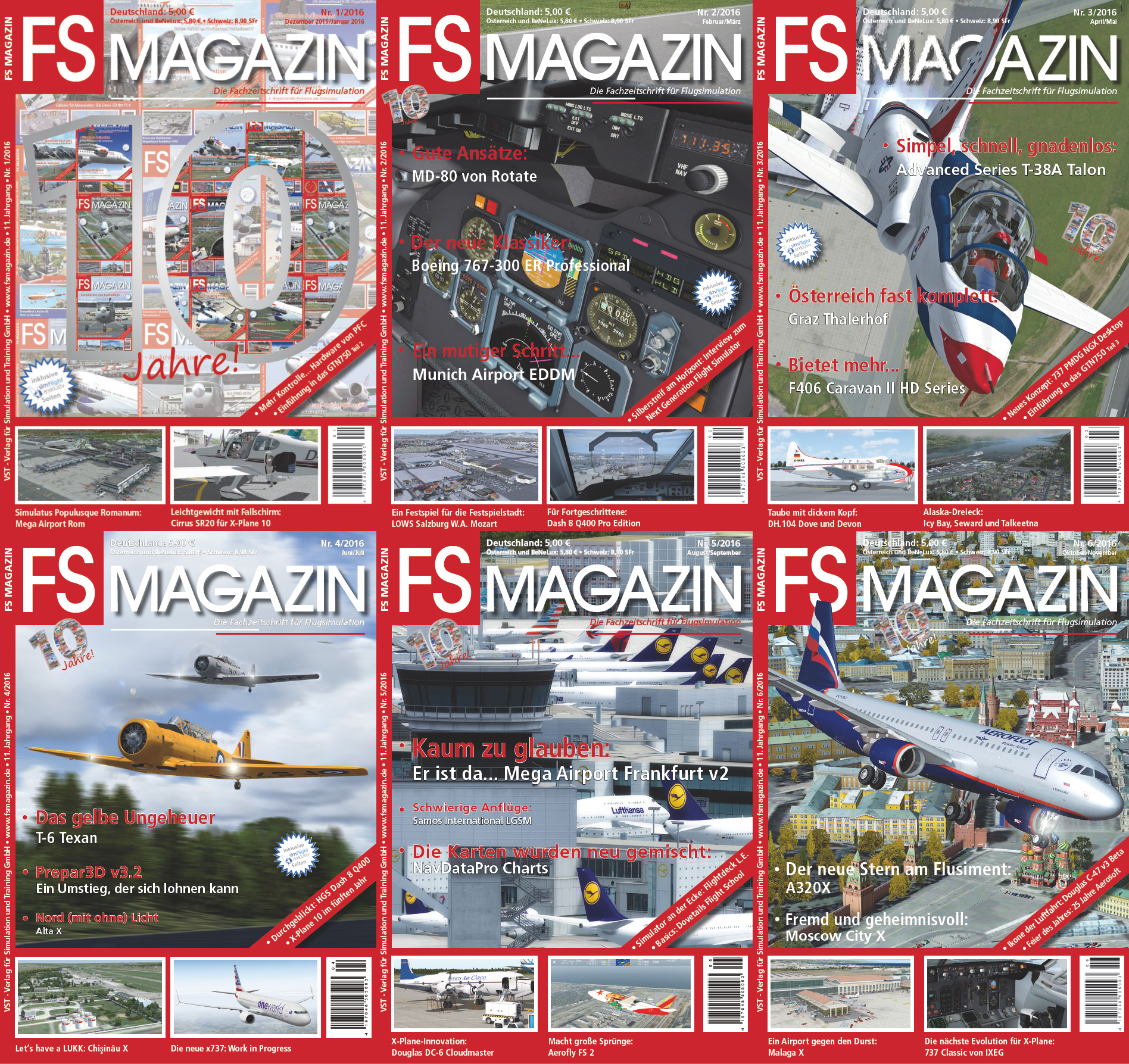 FS MAGAZIN - VOLUME 2016
