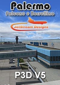 JETSTREAM DESIGNS - PALERMO FALCONE E BORSELLINO AIRPORT P3D5