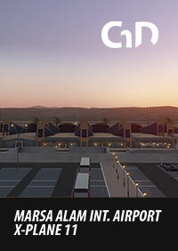CHUDOBA DESIGN - MARSA ALAM INTERNATIONAL AIRPORT (HEMA) X-PLANE 11