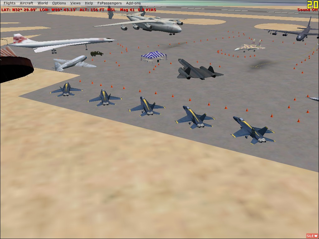 EAGLE SIMULATIONS - BEAUFORT MCAS AIRSHOW