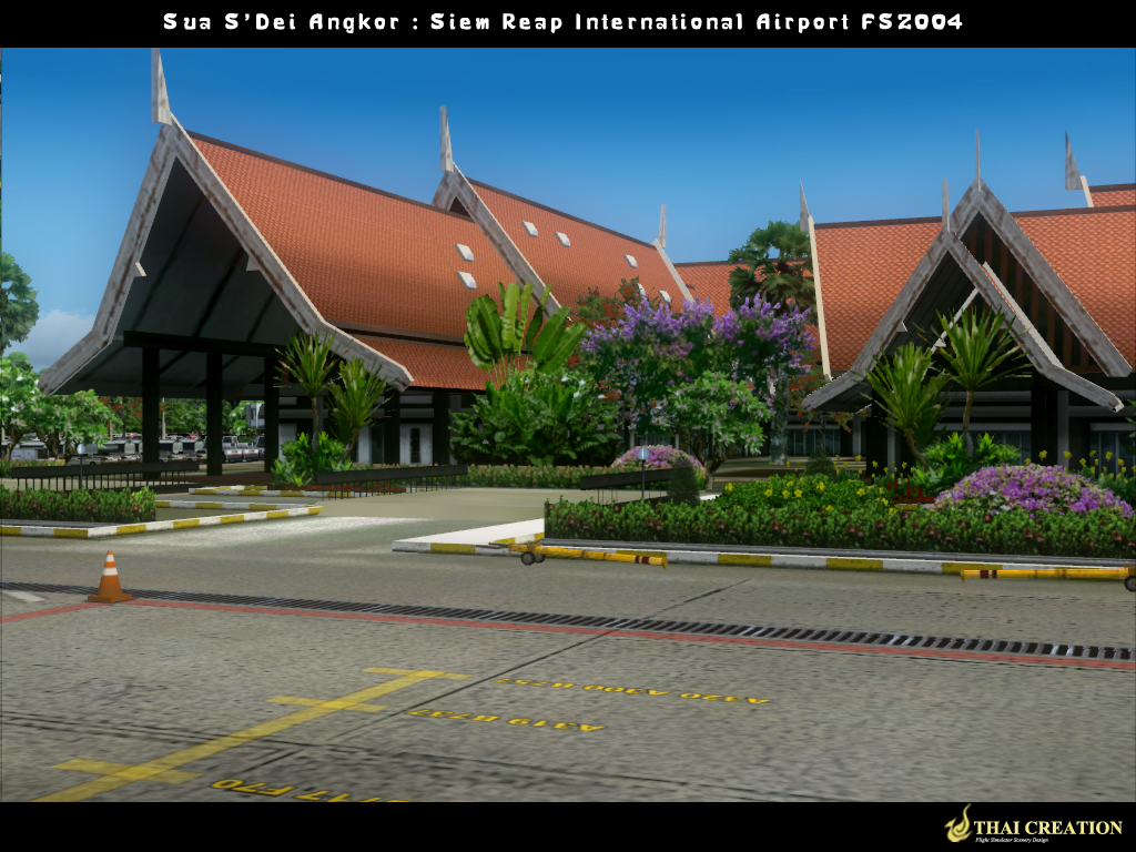 THAI CREATION - SUA S'DEI ANGKOR SIEM REAP INTERNATIONAL AIRPORT