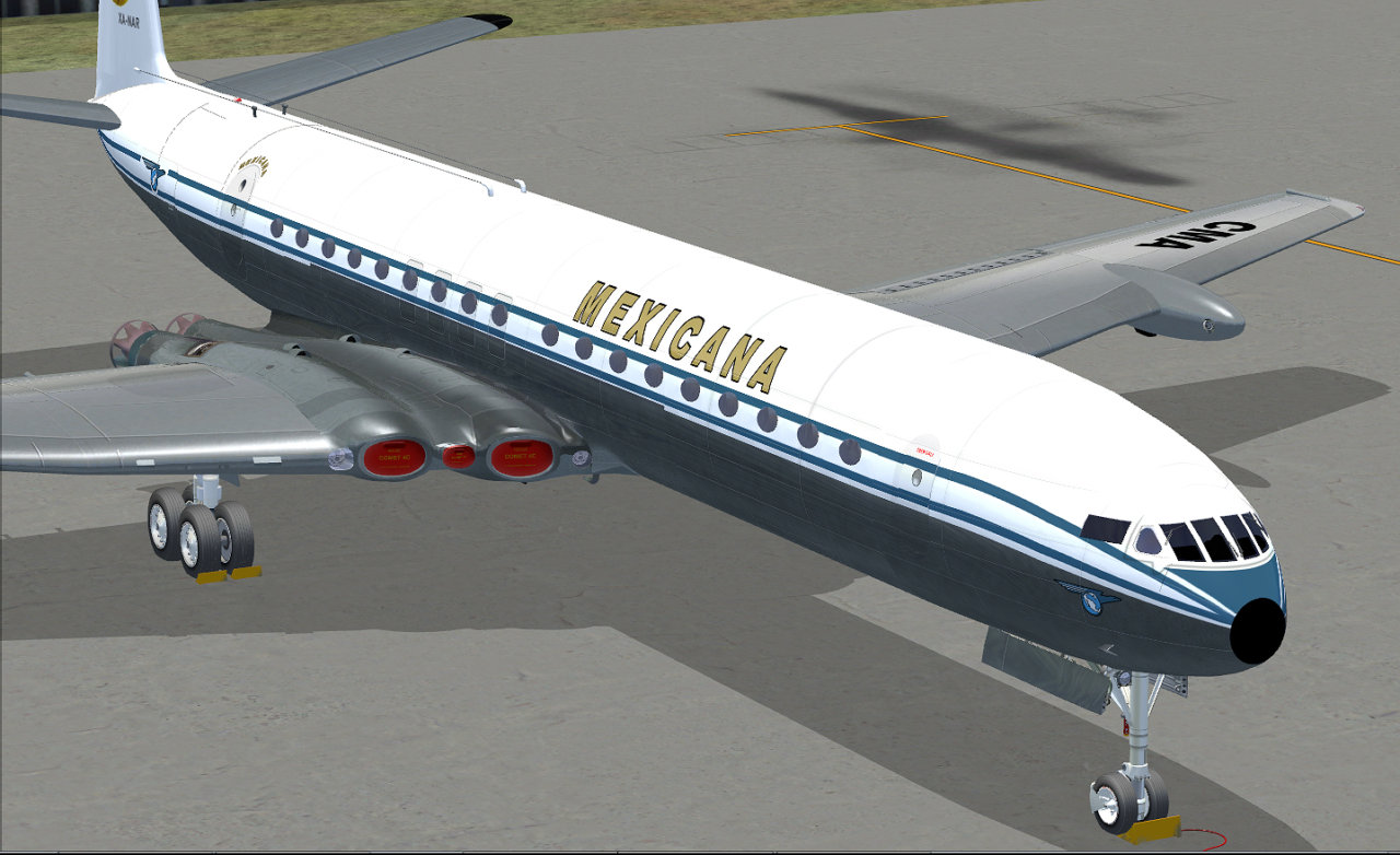 JUSTFLIGHT - COMET JETLINER (DOWNLOAD)