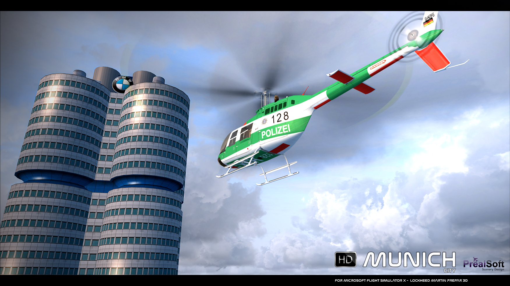 PREALSOFT - HD CITIES - MUNICH - AUTOGEN FSX P3D