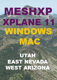 TABURET - UTAH - EAST NEVADA AND WEST ARIZONA FOR X-PLANE 11