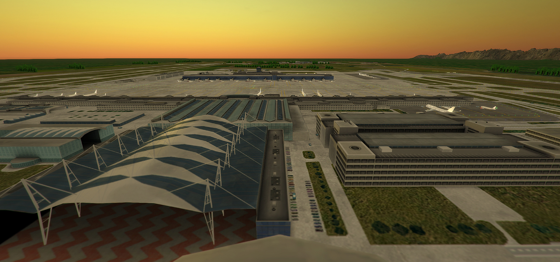 NYERGES DESIGN - EDDM AIRPORT FOR TOWER! 3D