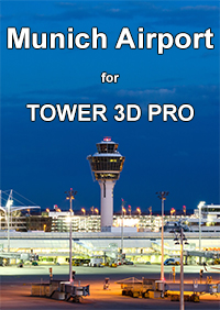 NYERGES DESIGN - TOWER! 3D 机场包: 慕尼黑 EDDM