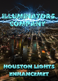 ILLUMINATORS - HOUSTON (USA) NIGHT LIGHT ENHANCED MSFS
