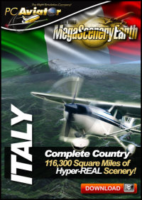 PC AVIATOR - MEGASCENERY EARTH - ITALY FSX P3D