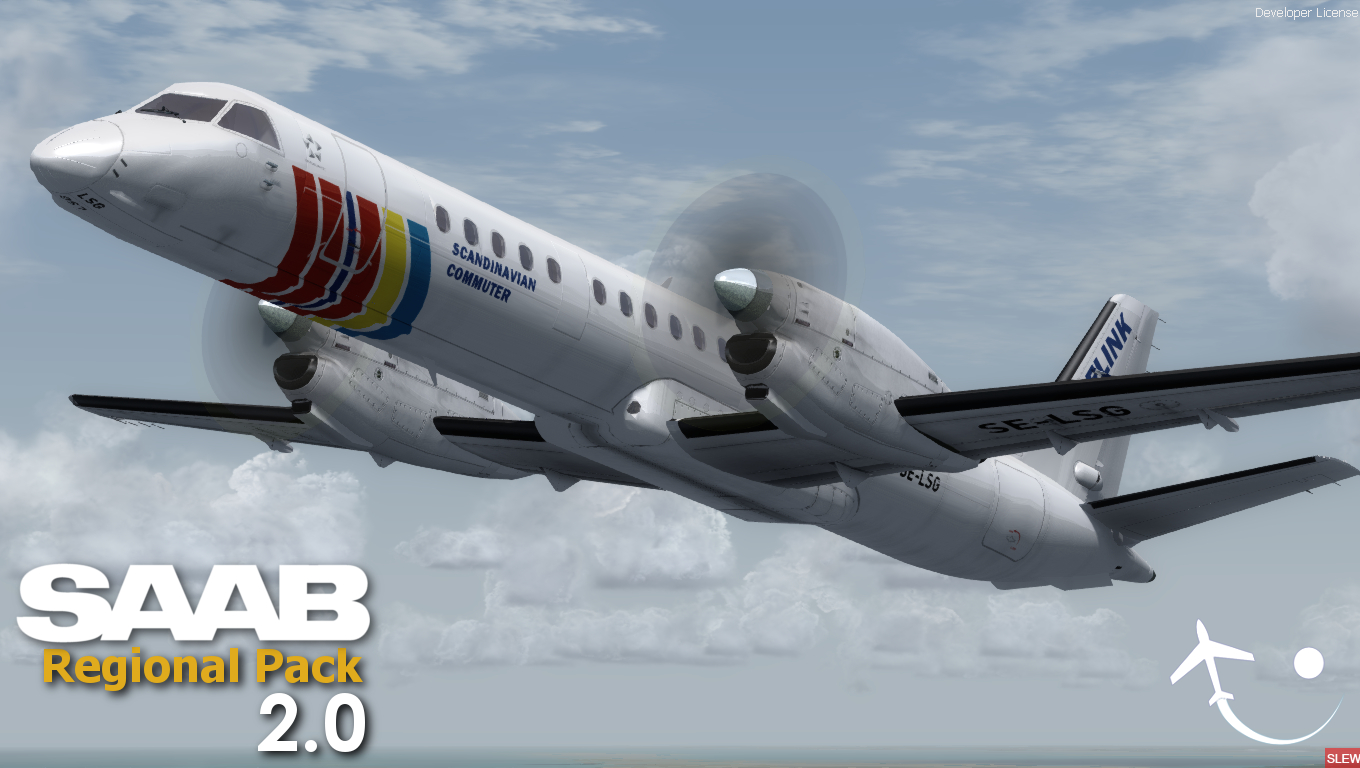 VIRTUALCOL - SAAB REGIONAL PACK V2 FOR FSX P3D