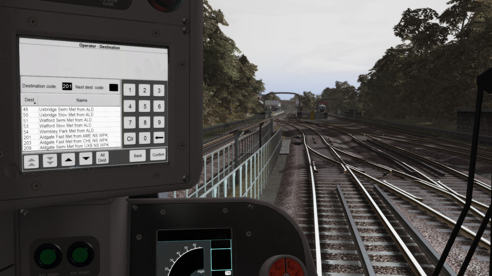 JUSTFLIGHT - JUSTTRAINS - S8 ADVANCED – 伦敦地铁 TS2020