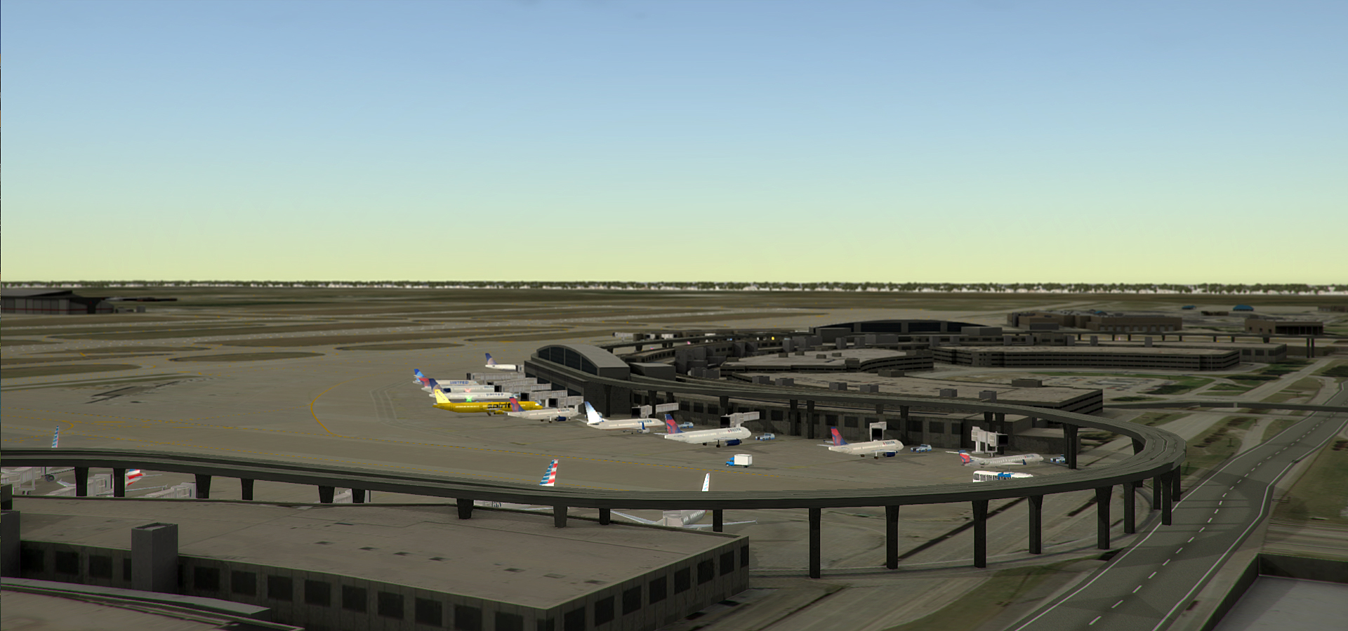 NYERGES DESIGN - REAL COLOR KDFW FOR TOWER! 3D