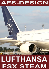 AFS-DESIGN -  LUFTHANSA AIRBUS NEW LIVERY FSX-STEAM