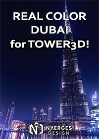 NYERGES DESIGN - REAL COLOR OMDB FOR TOWER! 3D