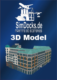 "SIMDOCKS.DE - 3D MODEL ""CITY HOUSE 1"""