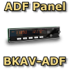 FI - BKAV-ADF BENDIX KING STYLE ADF PANEL