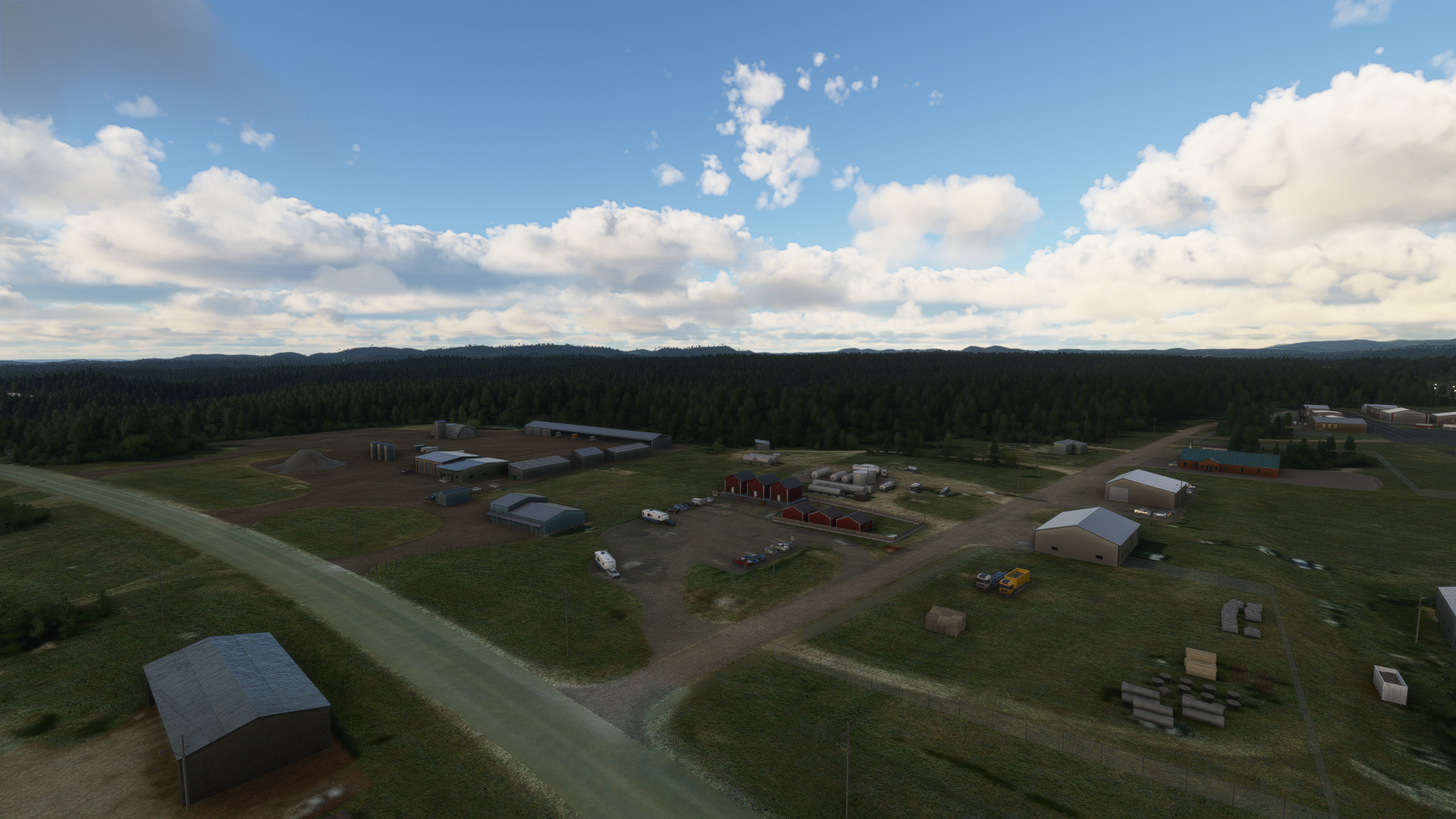 FSWS SCENERIES - KCUT - CUSTER COUNTY AIRPORT - MSFS