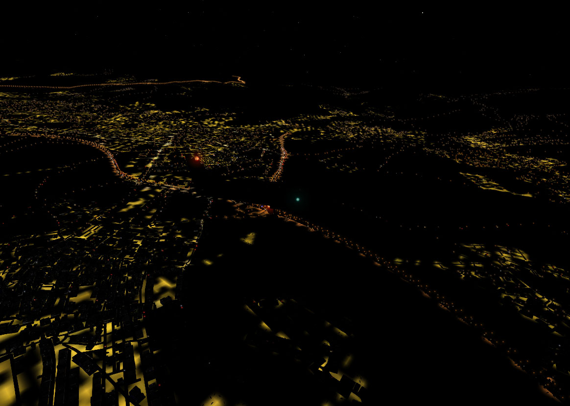 TABURET - NIGHT XP SPAIN AND PORTUGAL FOR X-PLANE 10/11