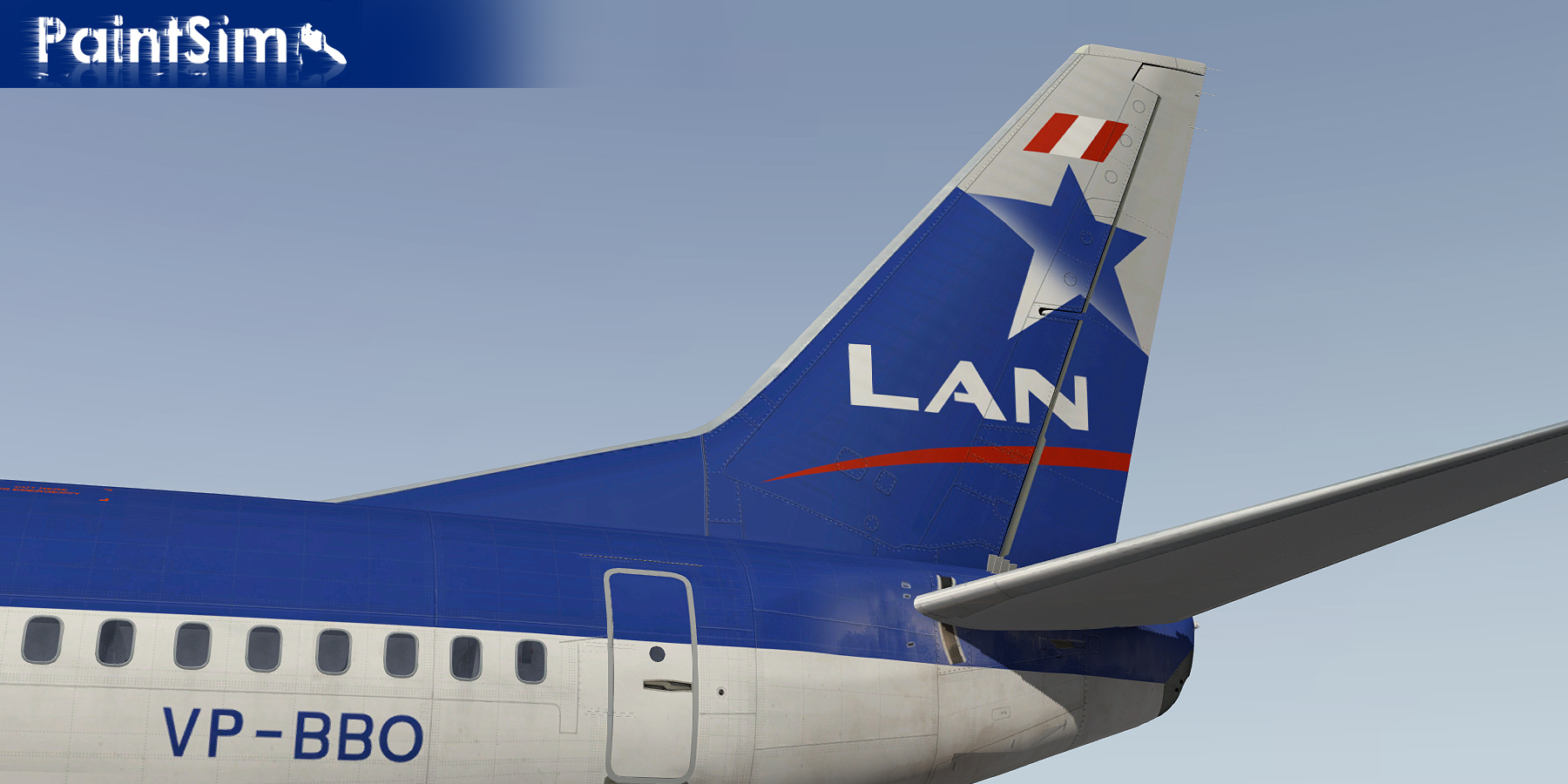 PAINTSIM - HD REPAINTS FOR IXEG BOEING 737-300 CLASSIC X-PLANE 10
