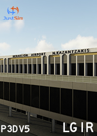 JUSTSIM - HERAKLION INTERNATIONAL AIRPORT P3D5