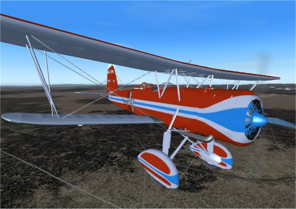 GOLDEN AGE - STEARMAN MODEL 4 SPEEDMAIL