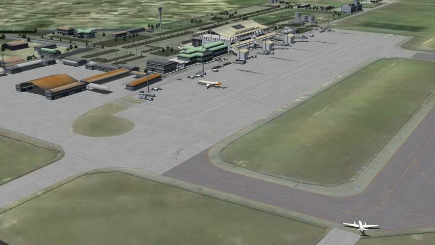 ONET VALLEY - WATTAY INTERNATIONAL AIRPORT LAOS FSX