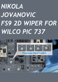 NIKOLA JOVANOVIC - FS9 2D WIPER FOR WILCO PIC 737