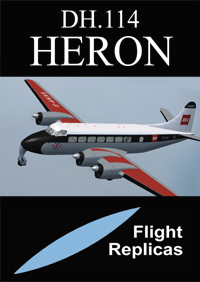 FLIGHT REPLICAS - DH.114 HERON FSX P3D