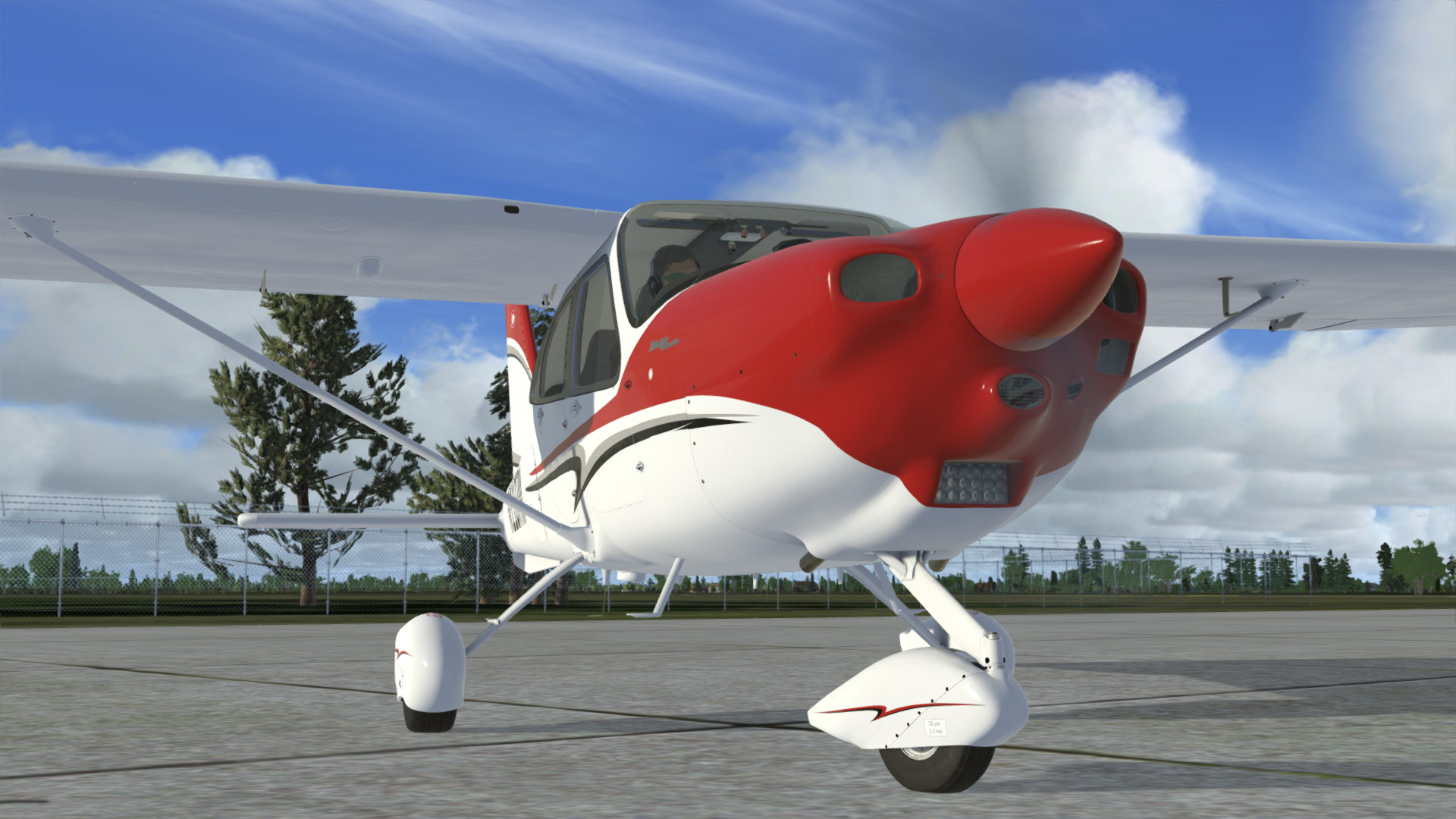 AEROPLANE HEAVEN - TECNAM P2010 FOR P3D V4.5 +