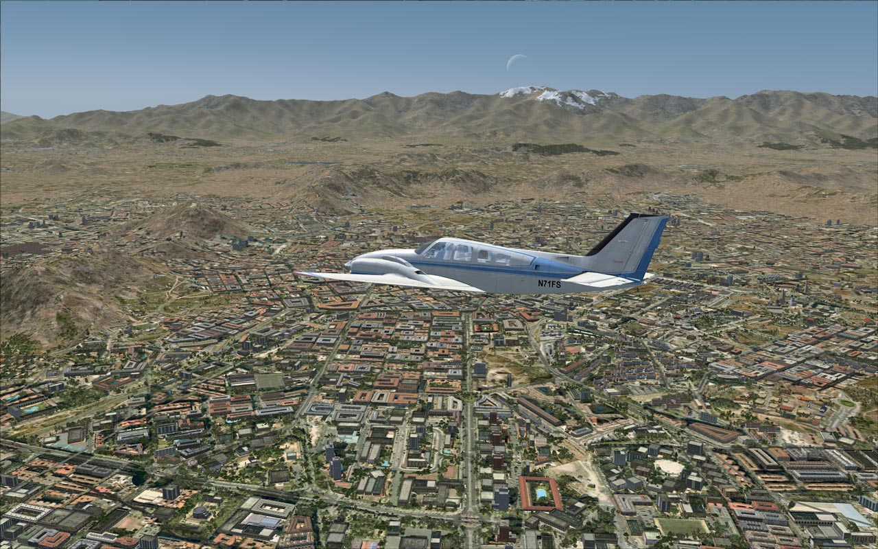 FLIGHT 1 - GEX AFRICA MIDDLE EAST FSX FSXSE